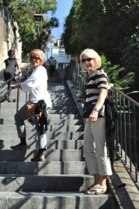 Linda and Judy off to the top!