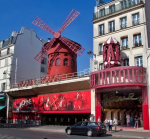 Le Moulin Rouge at La Place Pigalle