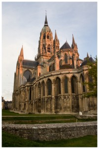The cathedral at Bayeux, France
