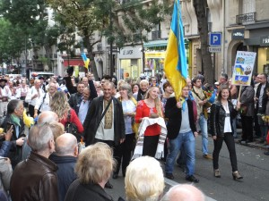 The group from Ukraine