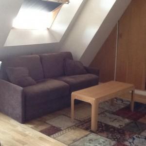 The petite living room