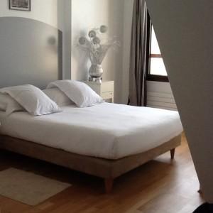 The bedroom