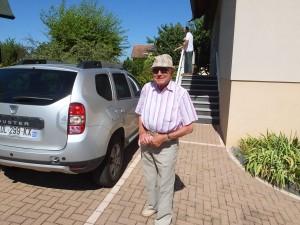 John-Paul, 86, and always stylin'!