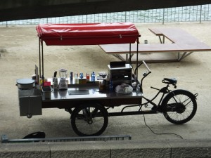 "This gives new meaning to the phrase ""food truck."""
