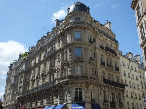 This is classic Haussmann architecture which reinvented old Paris and made it what it is today.