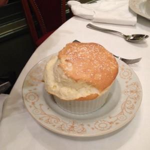 Grand Marnier dessert souffle