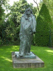 Statue of Balzac by Rodin