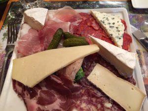 Bernie's cheese plate...enough for 2 o 3!