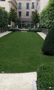 Courtyard of the Ritz