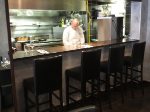 Le chef at L'Agrume
