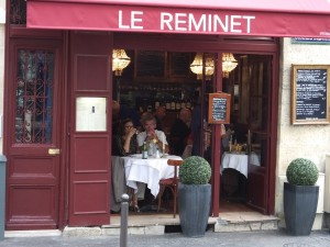Exterior shot of Le Reminet