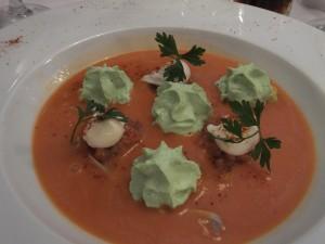 Linda's gazpacho