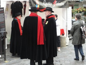 The officials of the Republic of Montmartre