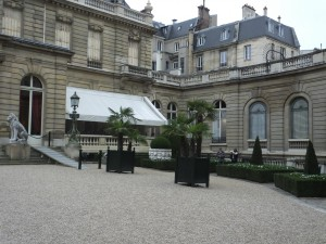 The terrace at Jacquemart-Andre Cafe