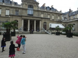 Musee Jacquemart-Andre is a former residence.  The entrance is from the rear.