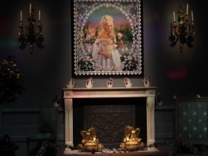 Marie Antoinette in the special exhibition of lights