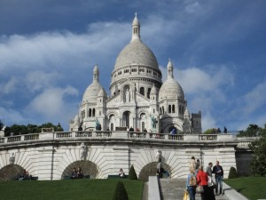 Always breathtaking views at Montmartre of the Sacre Coeur