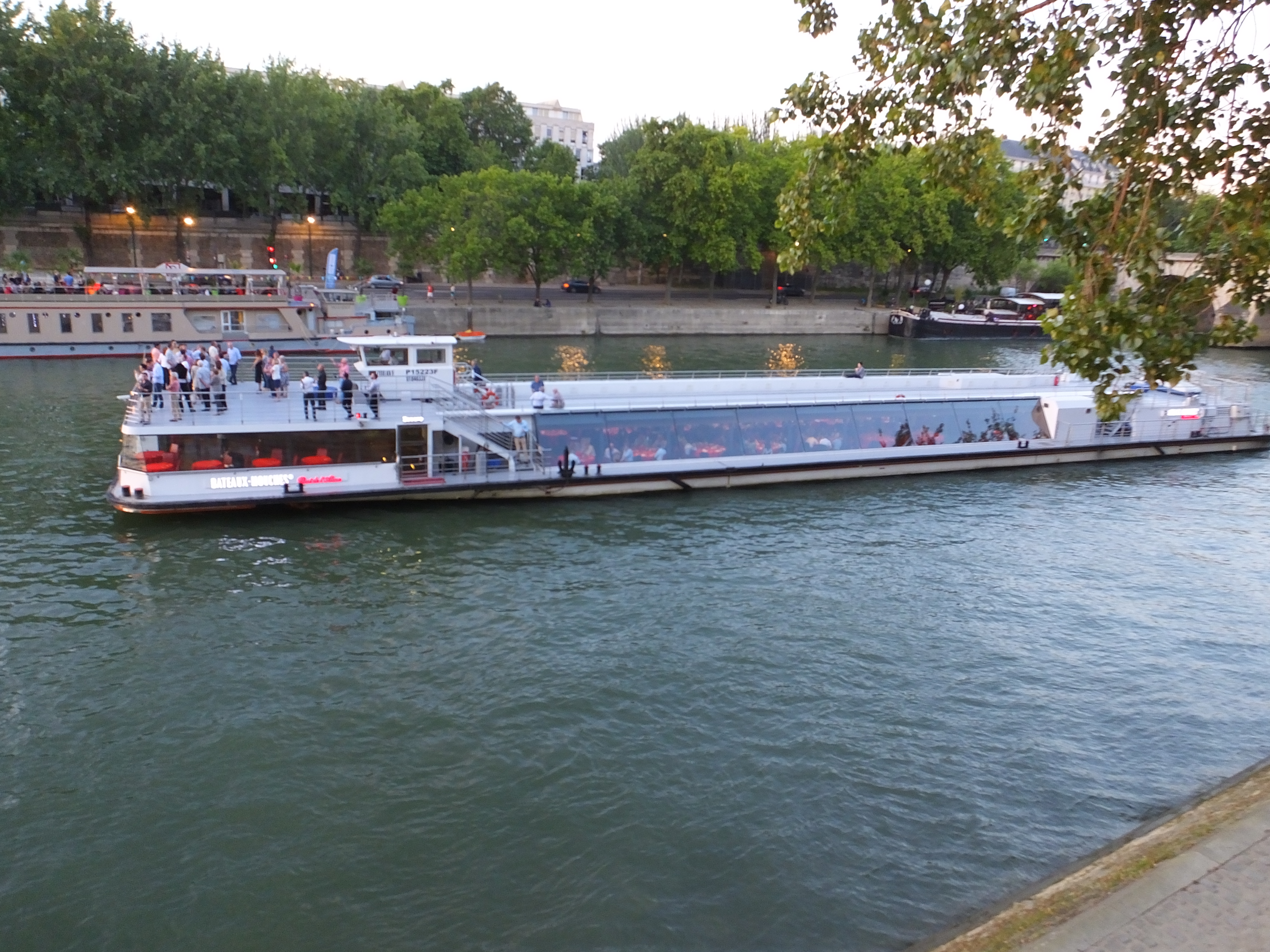 The river boats are back in full swing