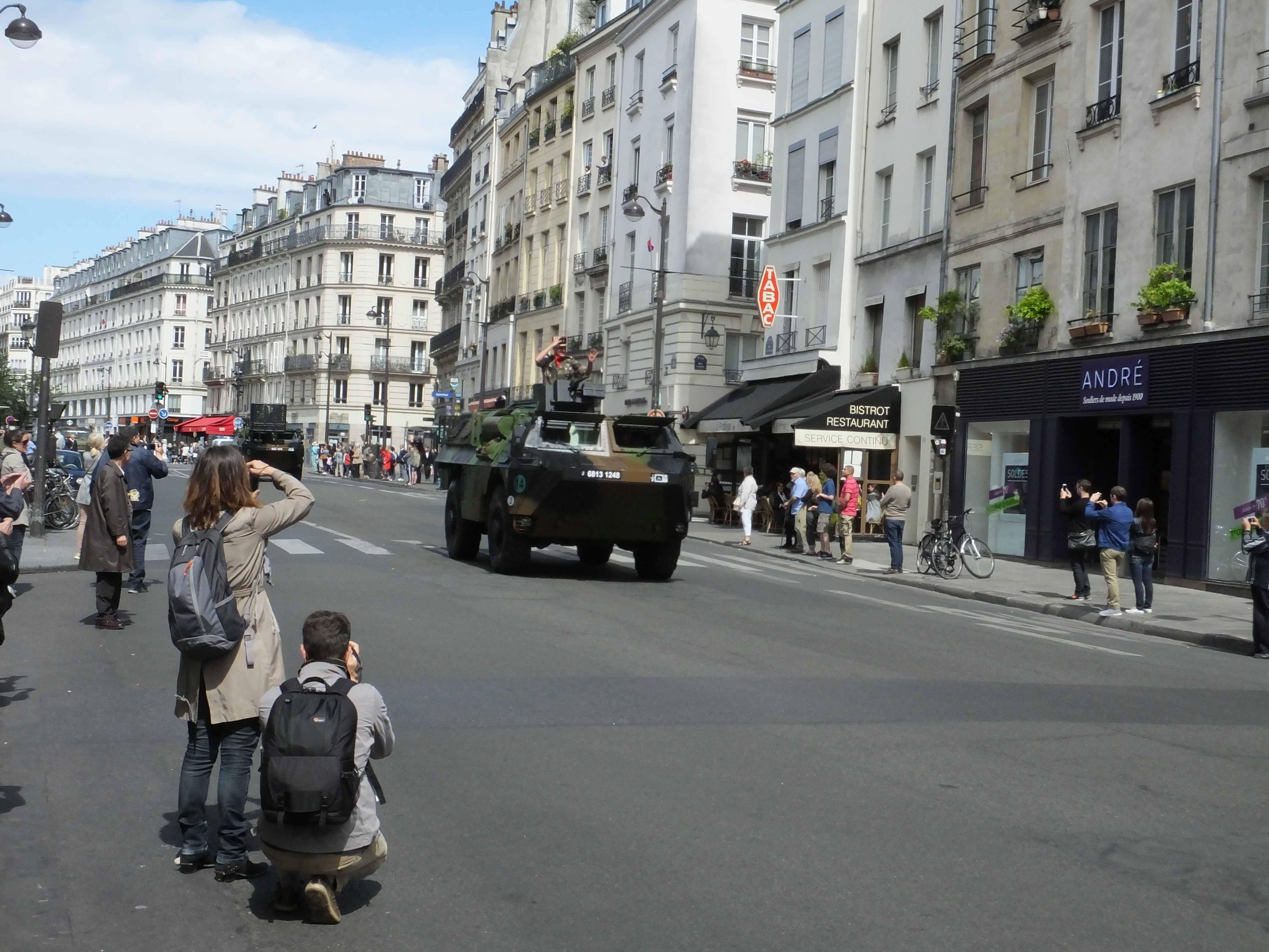 St. Antoine. Is one of the areas to watch segments of the parade as it breaks up